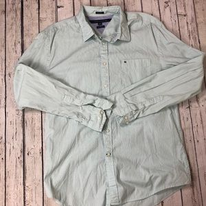 Tommy Hilfiger 80's 2 Ply Custom Fit Button Down